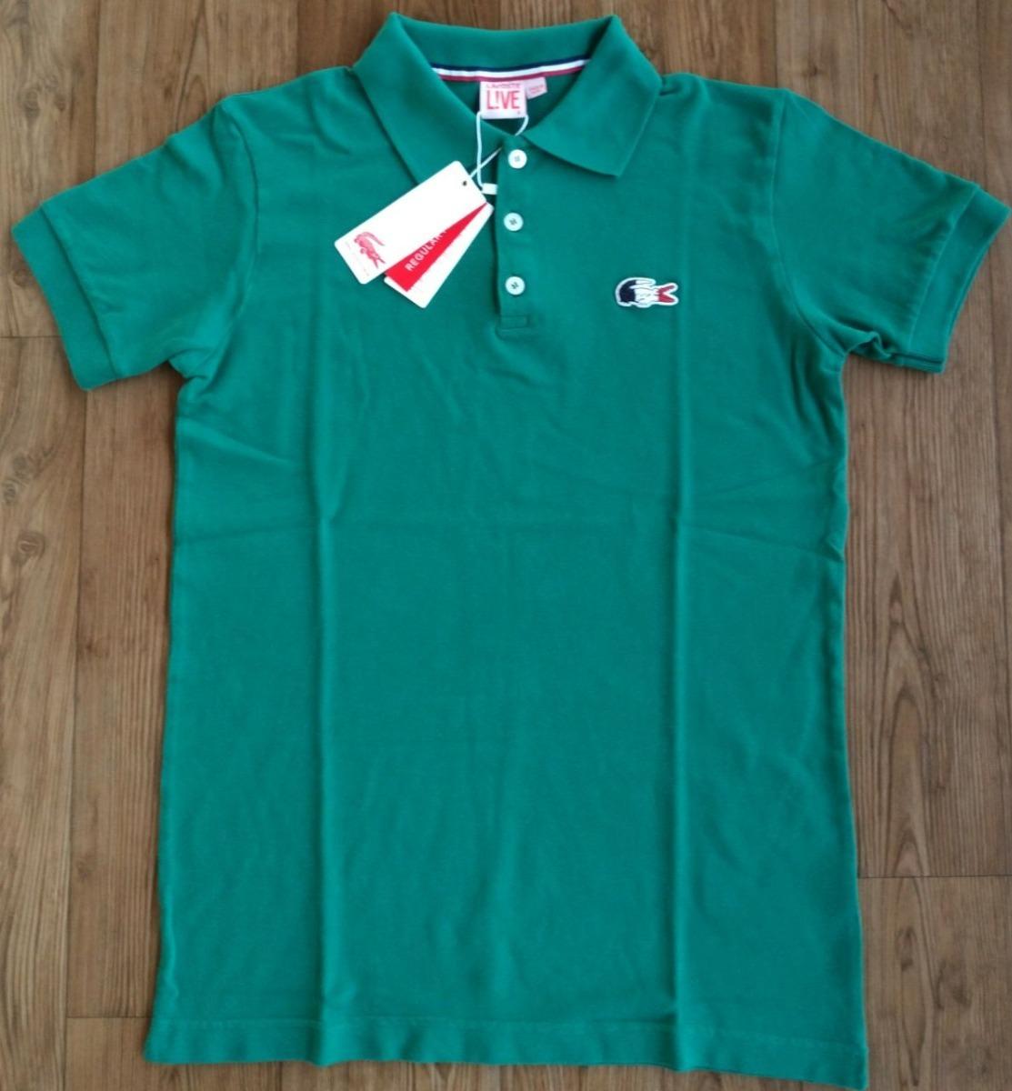 camisa polo lacoste original importada do peru 6 unidades. Carregando zoom. 4defbe9b39