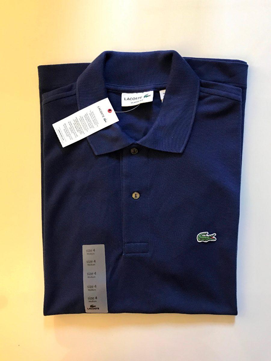 681e7db3320f6 camisa polo lacoste original importada dos eua azul m. Carregando zoom.