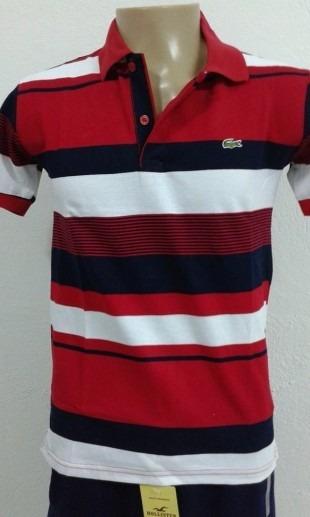 40dd8765c7c Camisa Polo Lacoste Original Masculina - R  129