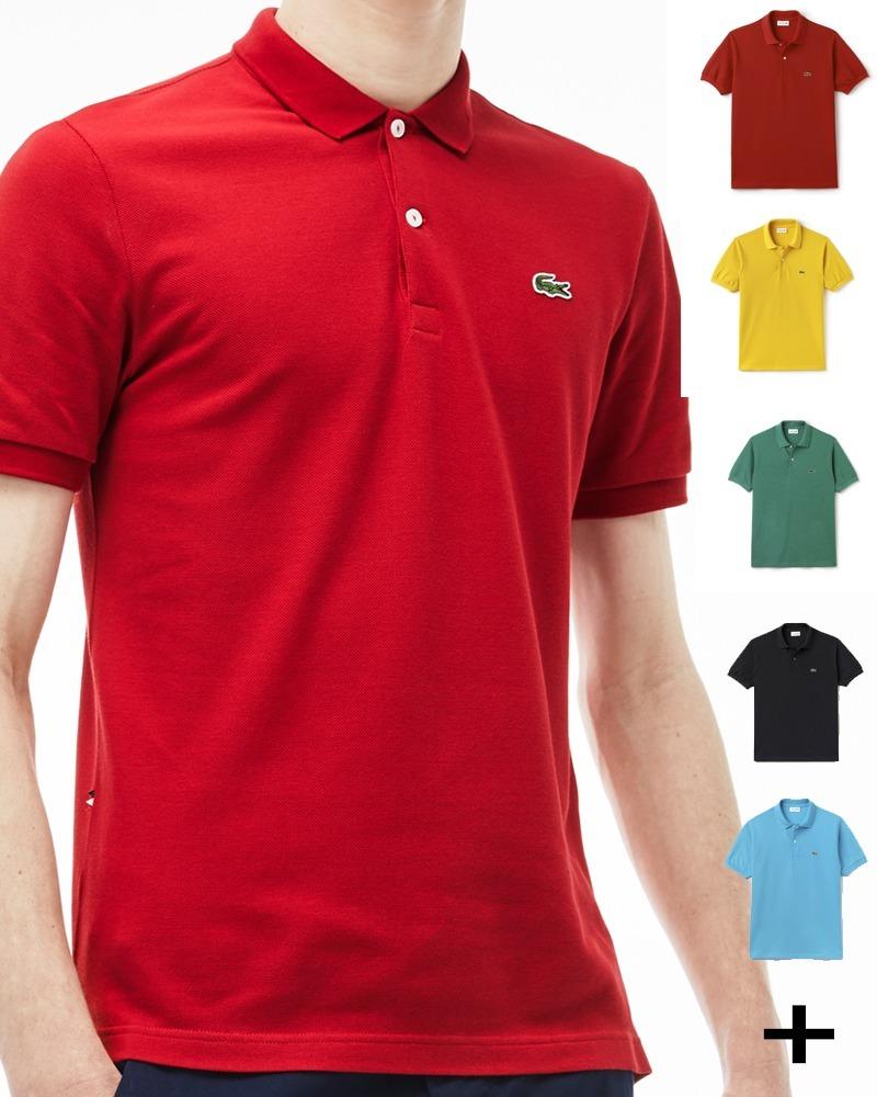 83d8a7296ec camisa polo lacoste original masculina camiseta hugo boss ck. Carregando  zoom.