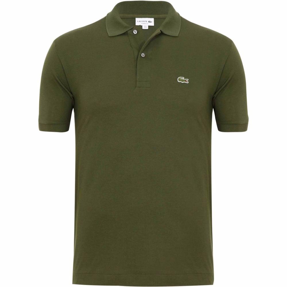 012cef67b0 camisa polo lacoste original verde oliva. Carregando zoom.