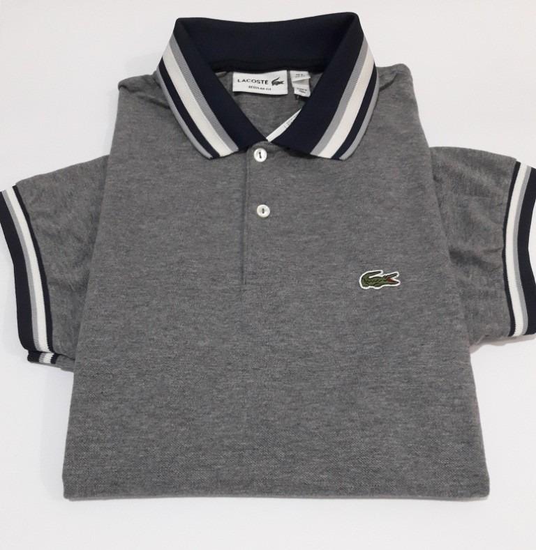 11cf8f333370f Camisa Polo Lacoste Promoção Crocodilo Tamanho Gg Original - R  155 ...