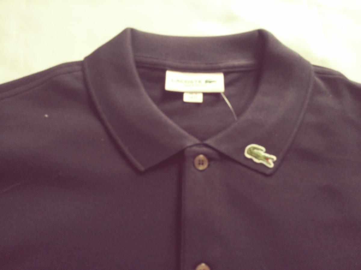 a3aeb92259198 Camisa Polo Lacoste Regular Fit Masculino Crocodilo Na Gola - R  219 ...