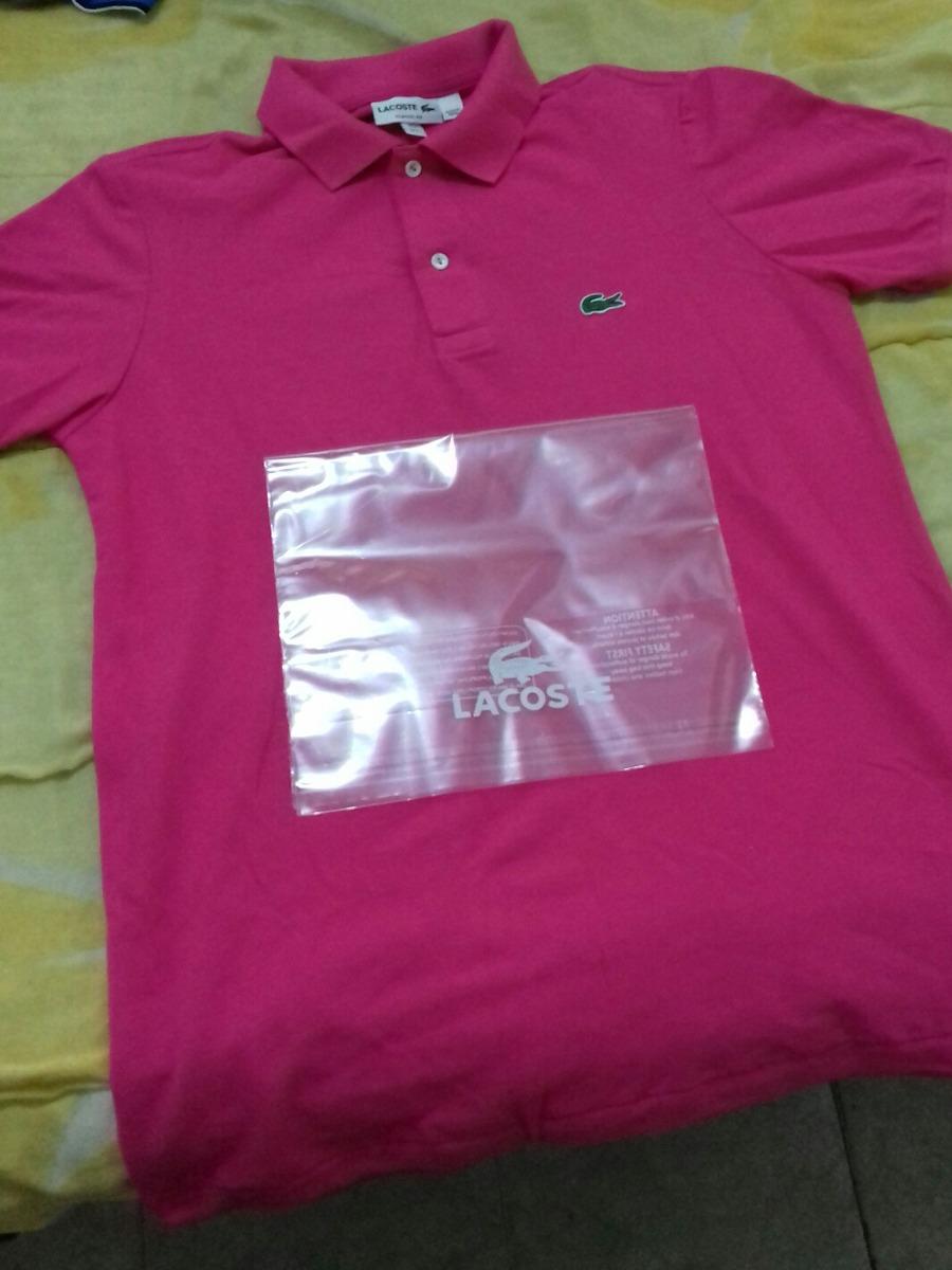 ae2c65298a0 camisa polo lacoste rosa original t3 - frete gratis. Carregando zoom.