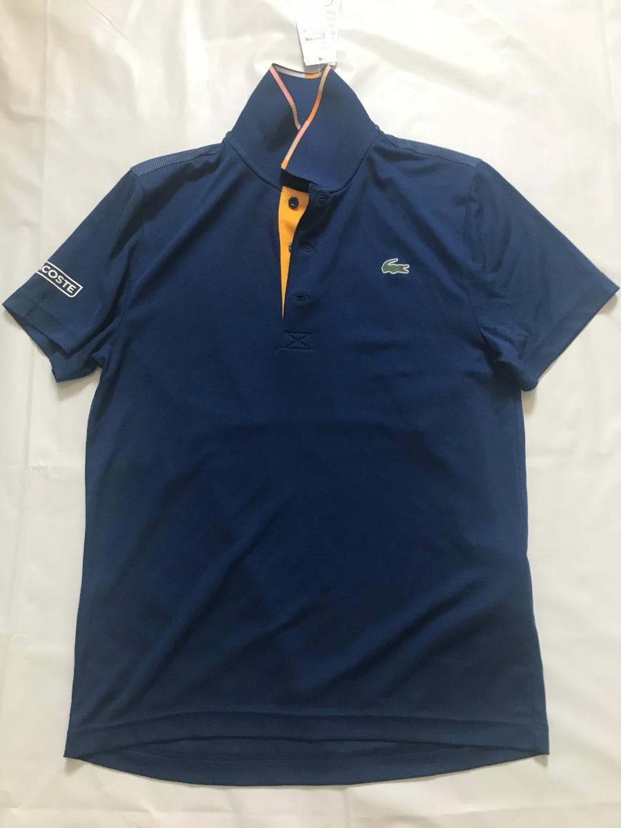 camisa polo lacoste sport tennis masculina em piqué técnico. Carregando  zoom. 2a2669aeb0