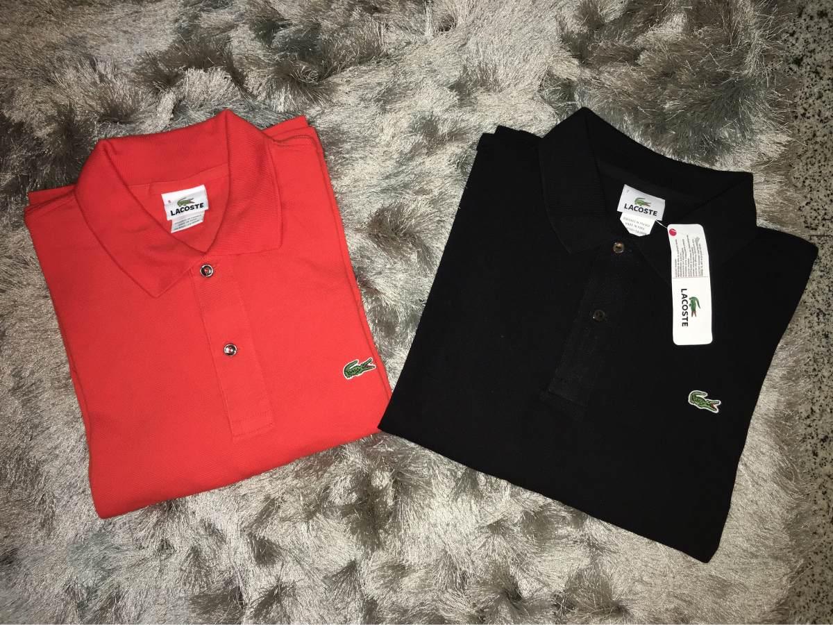e37e46dde2641 camisa polo lacoste tradicional várias cores e tamanhos. Carregando zoom.