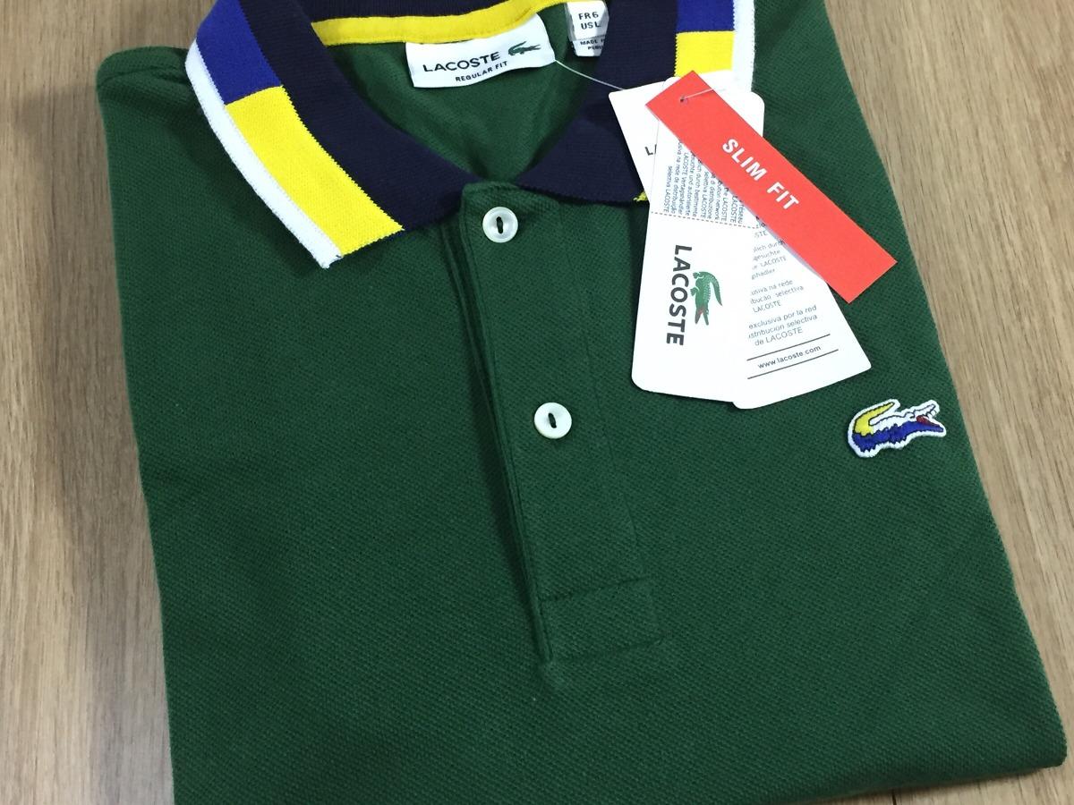 Camisa Polo Lacoste - Verde - R  149,00 em Mercado Livre 63596a8cb0