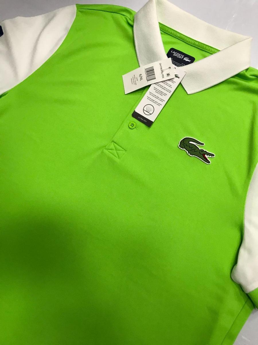 Camisa Polo Lacoste Verde Miami Open Dh7965 51 Pds - R  299,99 em ... 149d077798