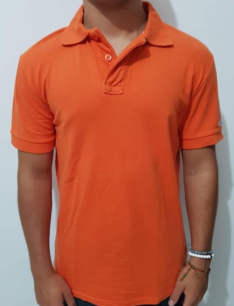 camisa pólo laranja. Carregando zoom. 822b069c35a39