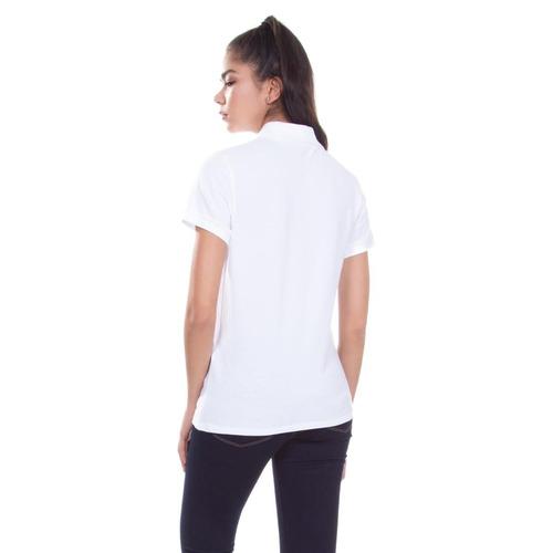 Camisa Polo Levis Feminina Slim Branca - R  139 175d33b6269aa