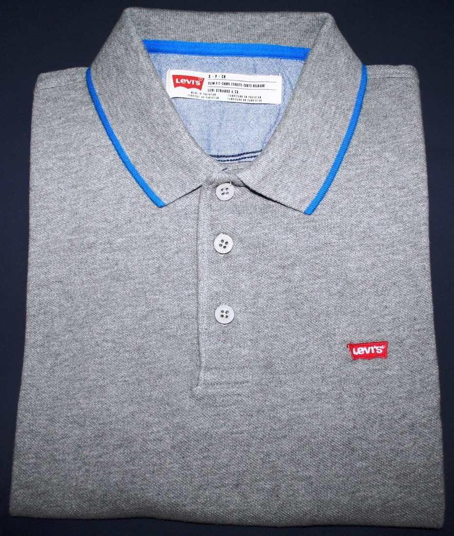 camisa polo levi s slim fit tam. p. Carregando zoom. ca562ef5f900d