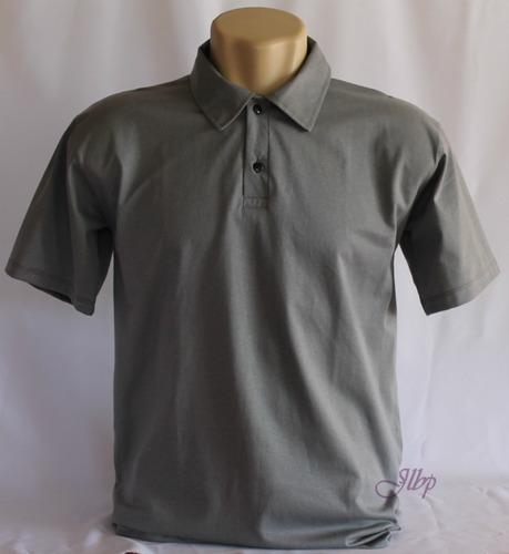 camisa polo lisa malha100% algodão30.1-kit com10 camisas