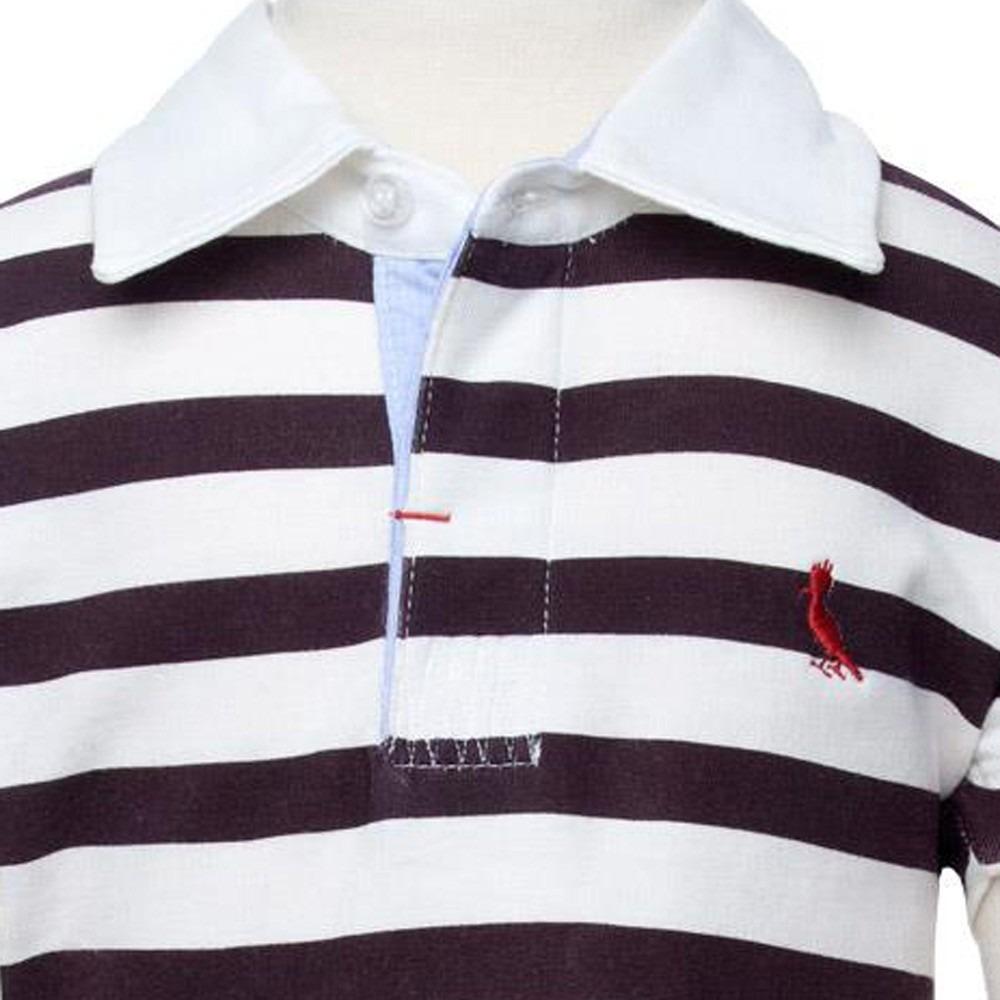 d8926860ca camisa polo listras rugby roupa infantil reserva mini. Carregando zoom.