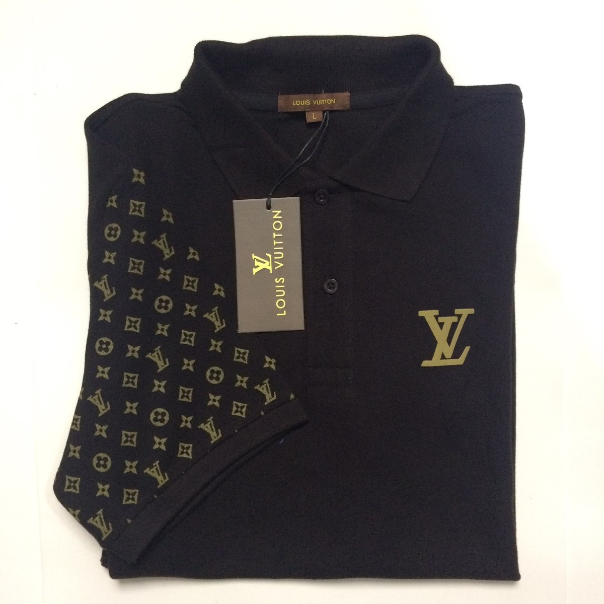 8443469fb camisa polo louis vuitton tecido personalizado puro algodão. Carregando  zoom.