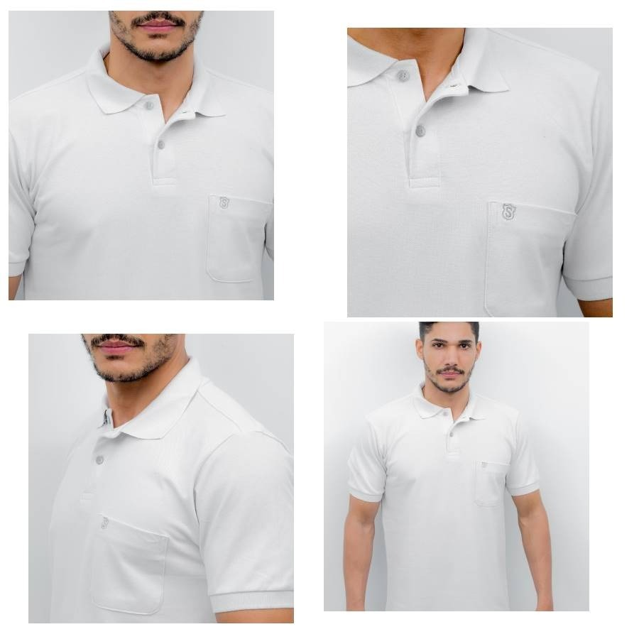 76915db3aef18 camisa polo luxo   camisaria sudotex   polos 100% algodão. Carregando zoom.
