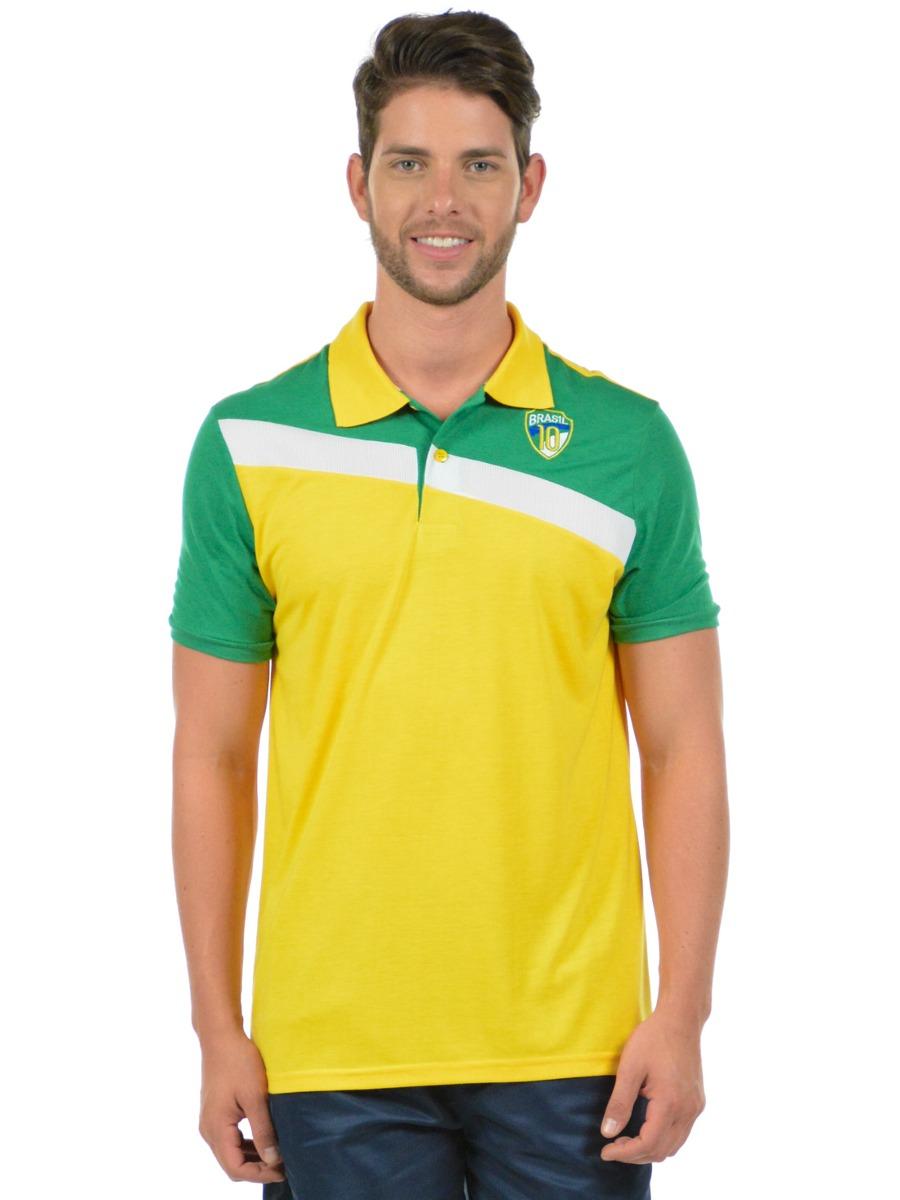 ca84df2943 camisa polo mais brasil fenomenal. Carregando zoom.