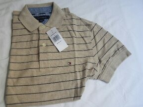 camisa polo manga curta tommy hilfiger masculina