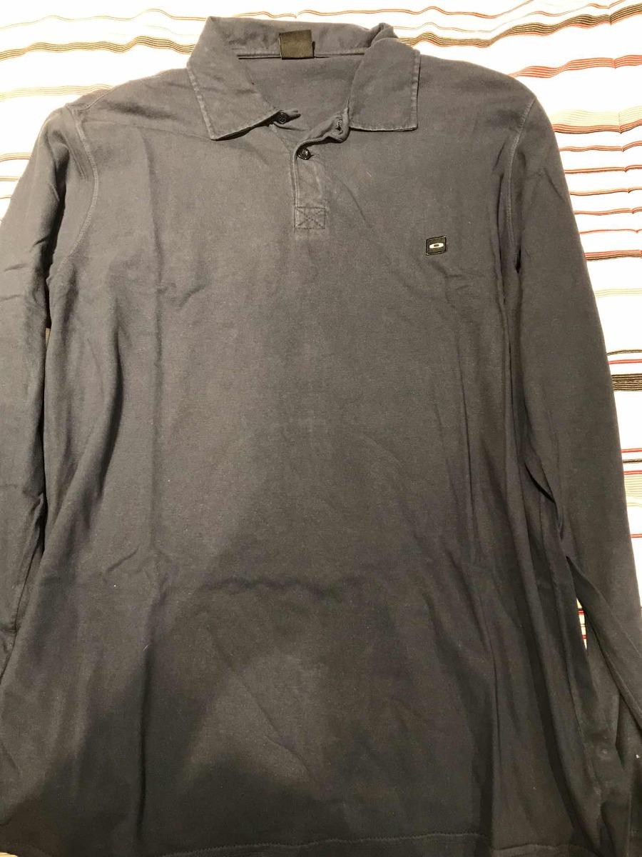 camisa polo manga longa oakley. Carregando zoom. a408dd52e946f
