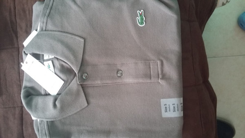 camisa polo, marca lacoste, original