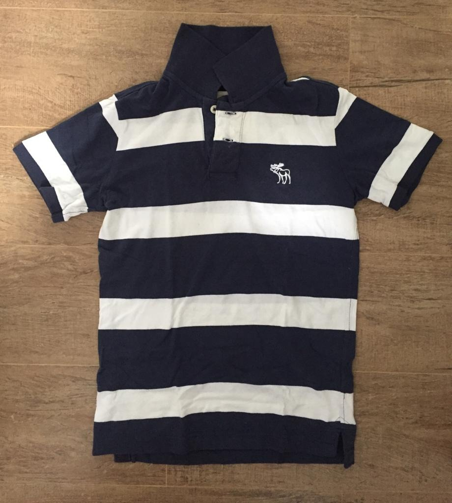 fa9b32b062 ... camisa polo masculina abercrombie fitch original - tam p. Carregando  zoom.