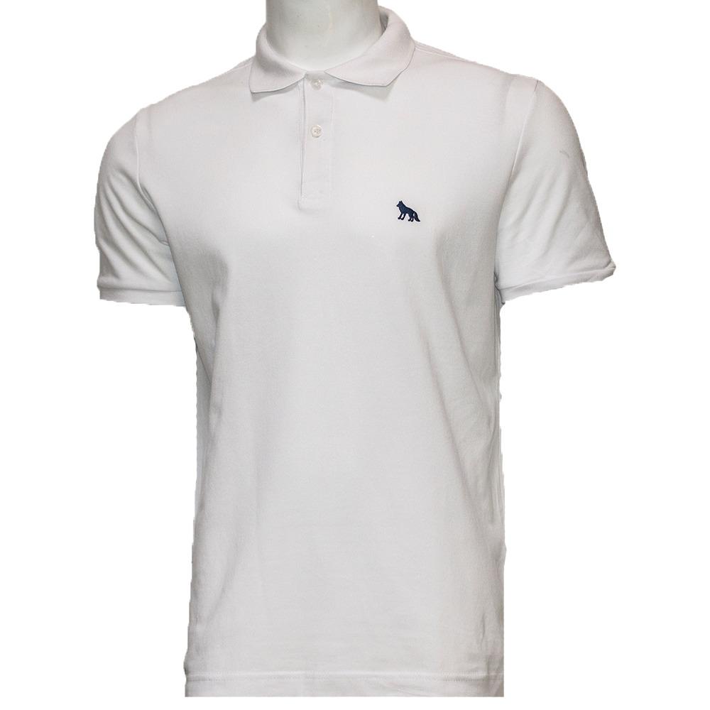 3e3816bb31 camisa polo masculina acostamento branca lisa. Carregando zoom.