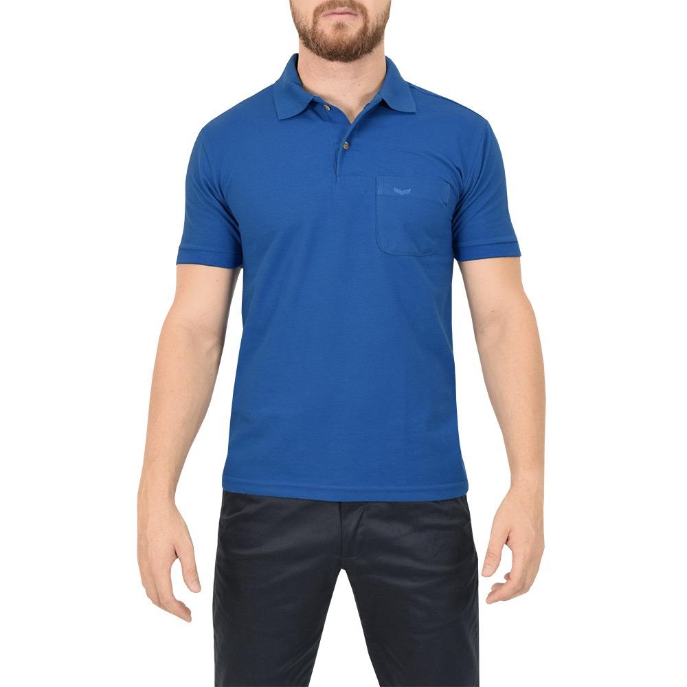 437bce6135 camisa polo masculina azul - wayna. Carregando zoom.