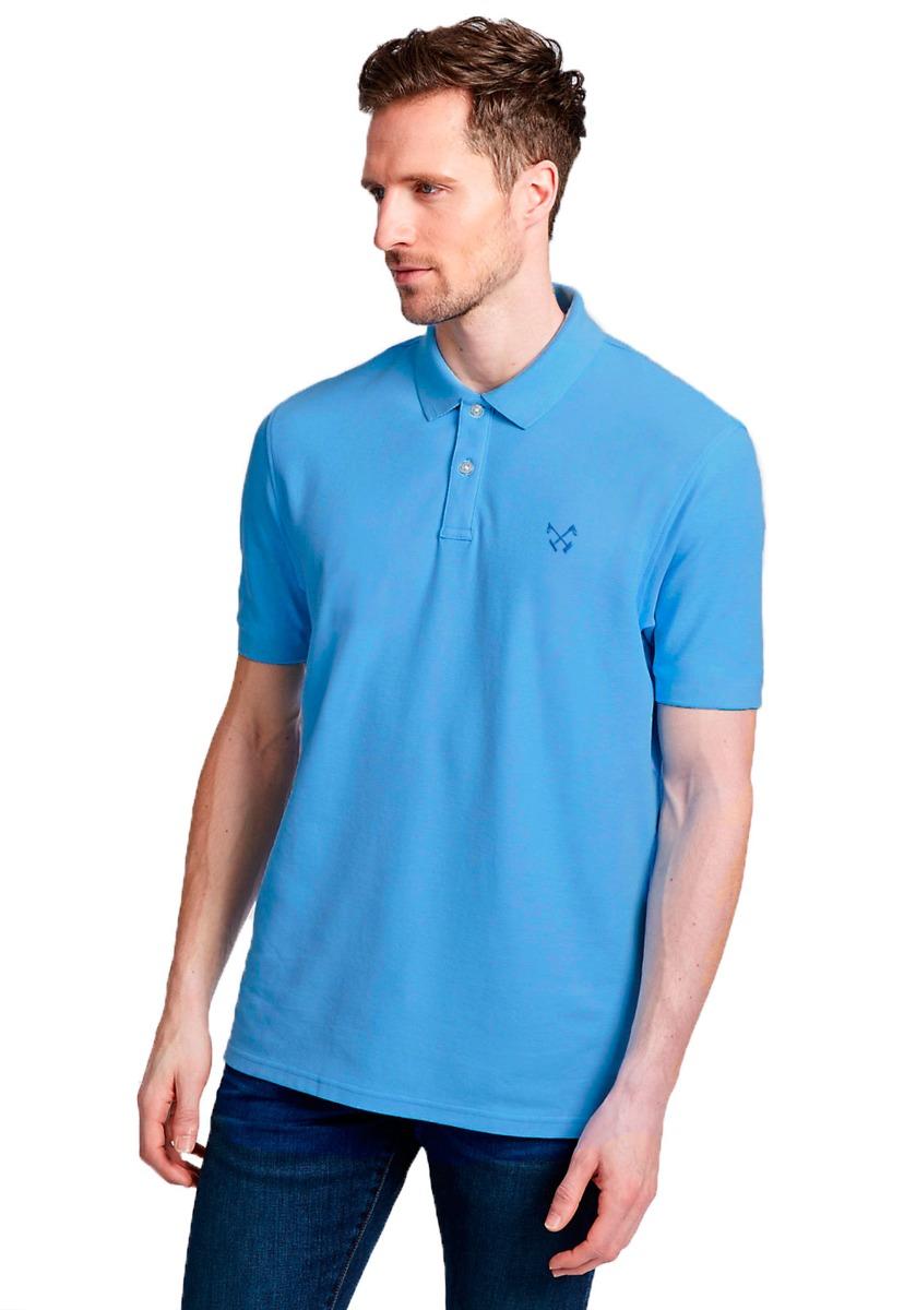 70255a7dd5 camisa polo masculina basic polo live - azul claro. Carregando zoom.