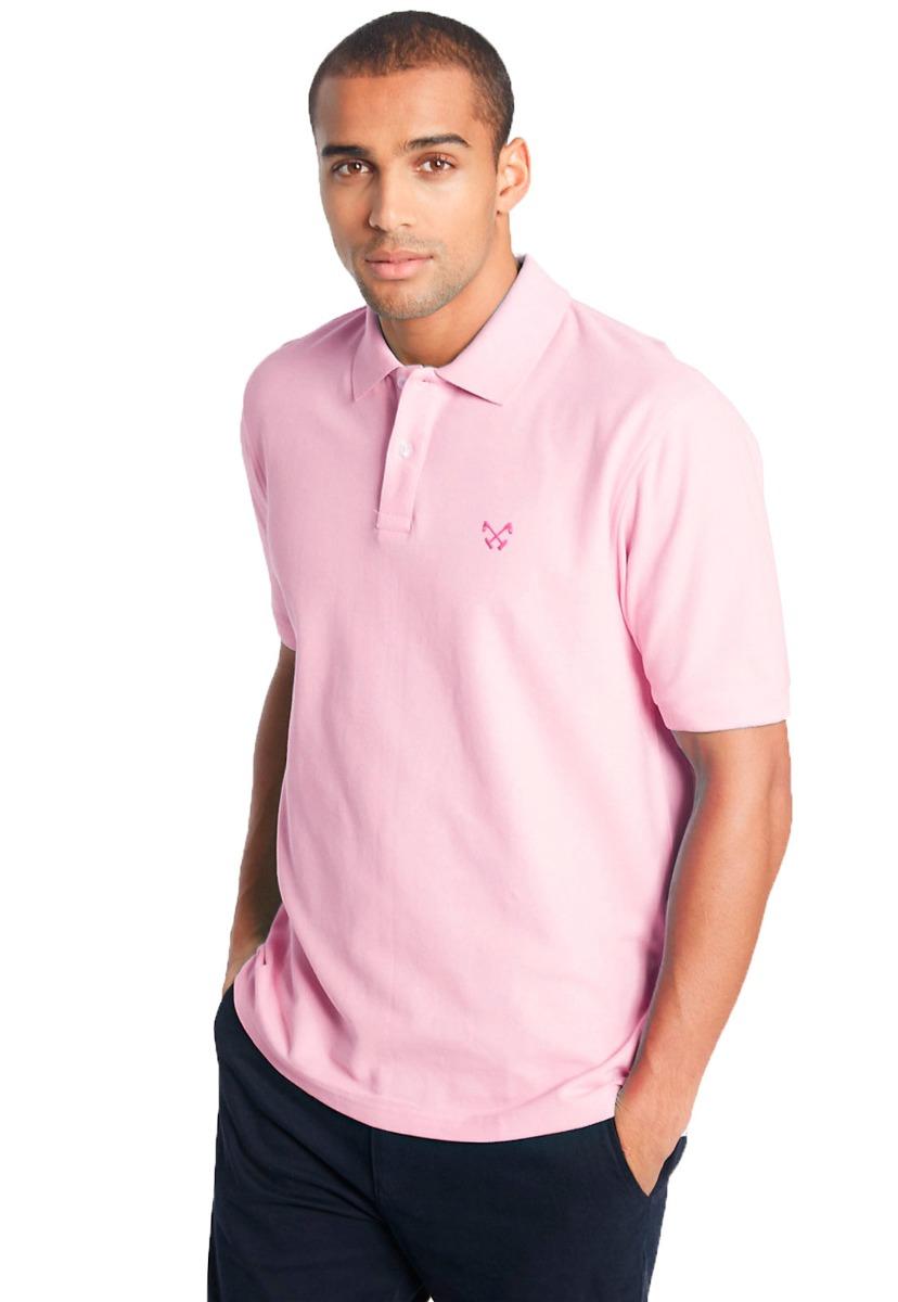 4b136c5b39 camisa polo masculina basic polo live - rosa claro. Carregando zoom.