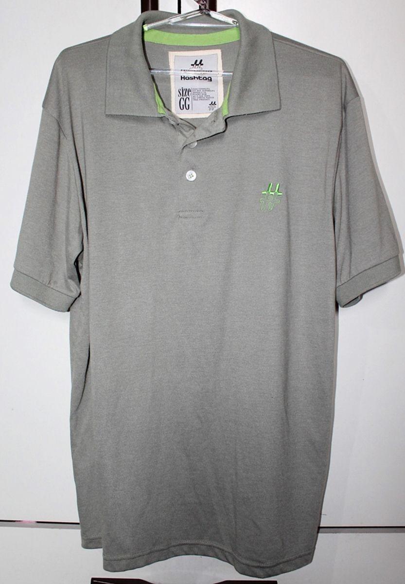 042a52943 camisa polo masculina cinza hashtag brechós. Carregando zoom.