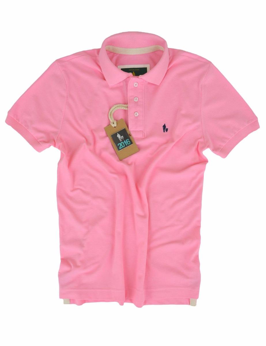 356c1fda2 camisa polo masculina cor rosa bebe vários modelos original. Carregando  zoom.