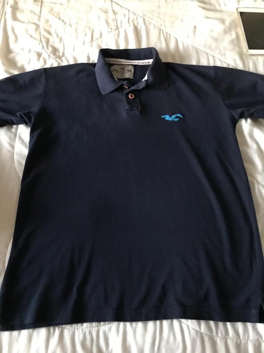 b5dfc2c606 Camisa Polo Masculina Da Hollister - R  52