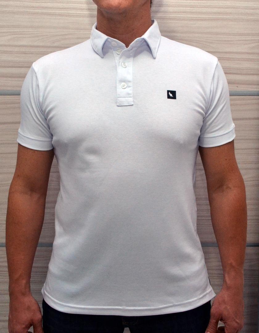 camisa polo masculina em suedine - órion moda. Carregando zoom. 4c14a4732b988