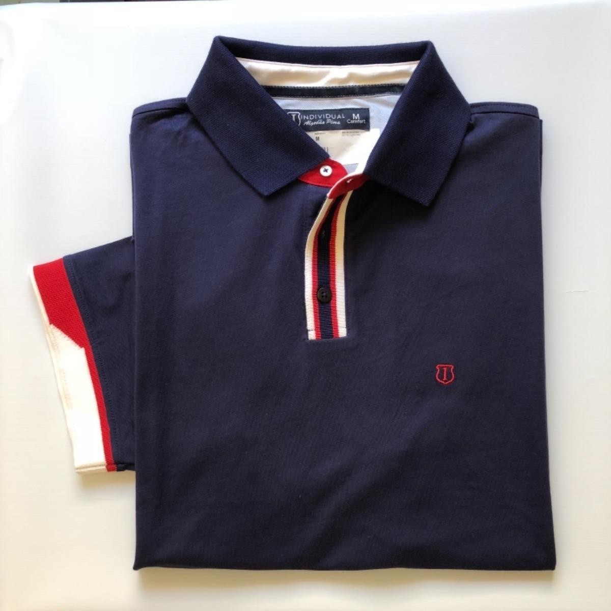 93cec85414 camisa polo masculina individual original alto padrão. Carregando zoom.