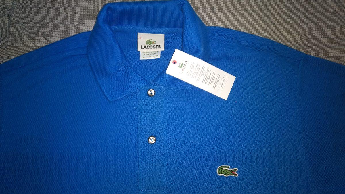 camisa polo masculina lacoste lisa e live! 100% original. Carregando zoom. 95ca65526b