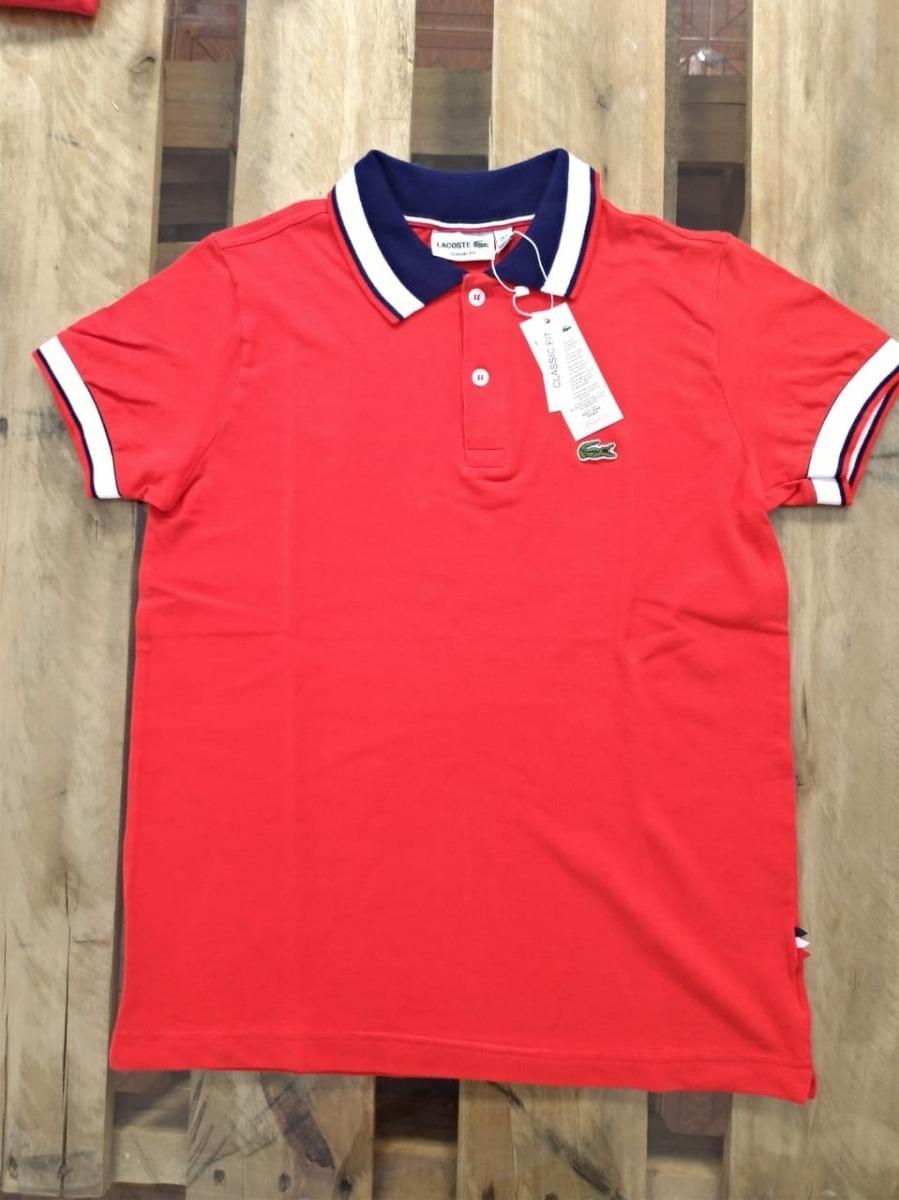 Camisa Polo Masculina Lacoste Live Original Do Peru - R  84,90 em ... c785170bbb