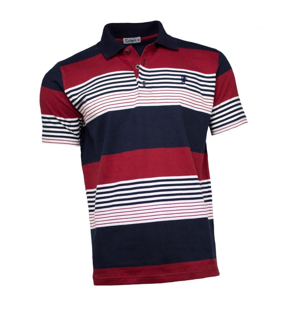 d4ca70a0d camisa polo masculina listrada azul vermelho. Carregando zoom.