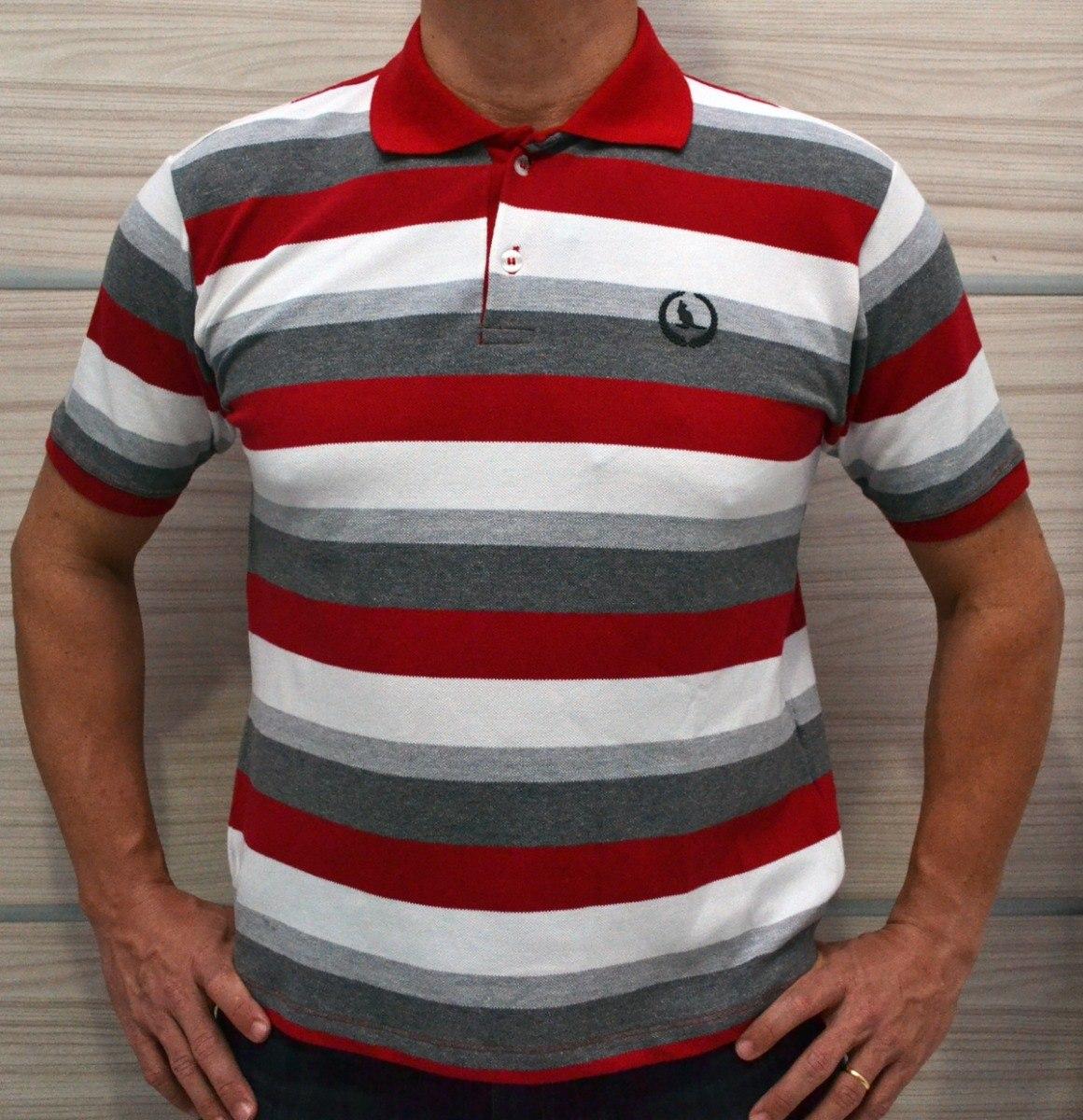 camisa pólo masculina malha de ótima qualidade-órion moda. Carregando zoom. b7bdaa1936cfa