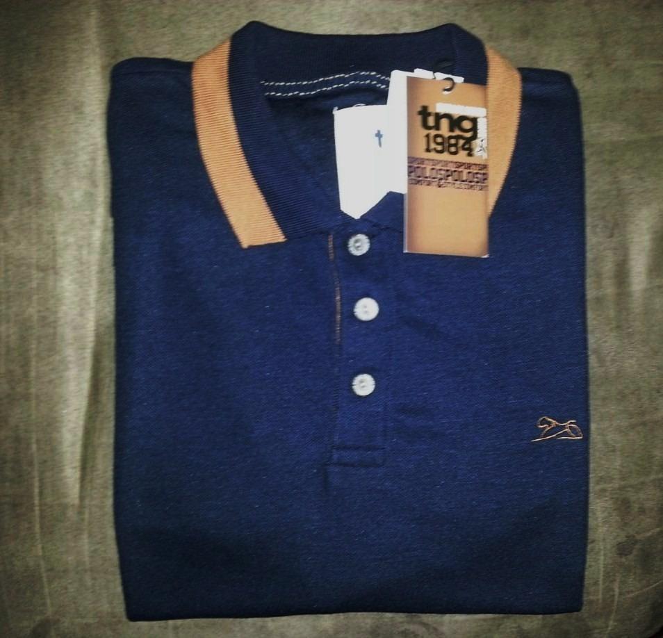 9b33c5386f camisa polo masculina marca famosa azul marinho tm gg (tng). Carregando  zoom.