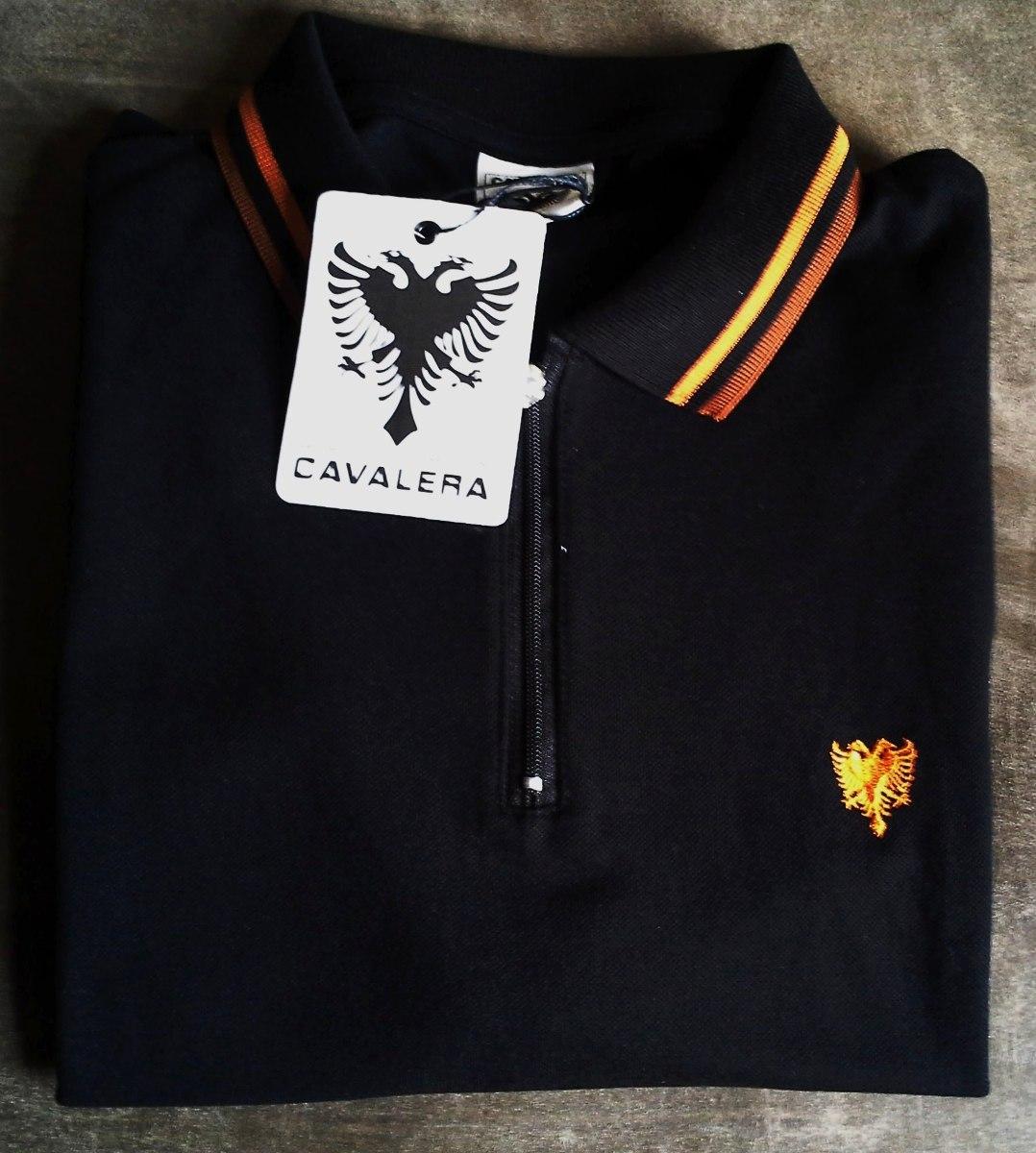 5717d90111 camisa polo masculina marca famosa cavalera tm g preta. Carregando zoom.