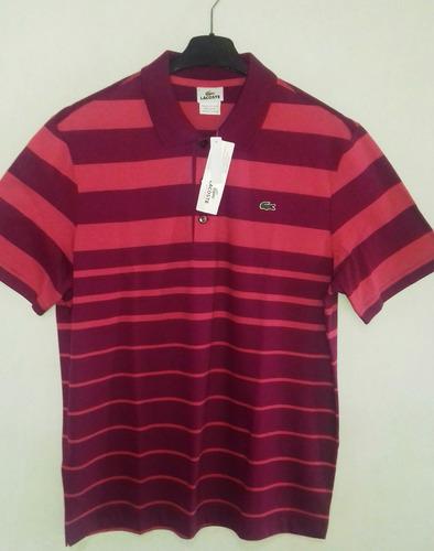 camisa polo masculina marca famosa lilás tm gg ¨6