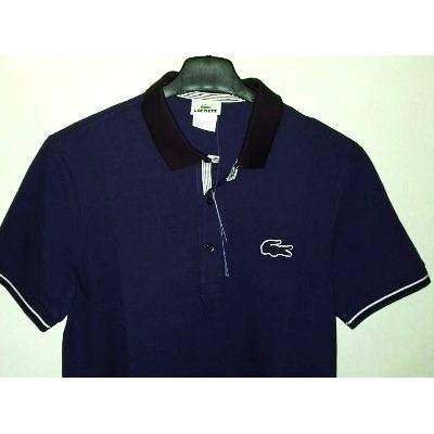2294ce8d87ceb ... d783a68365b Camisa Polo Masculina Marca Famosa Tm M Roxa - R 230,00 em  Mercado ...