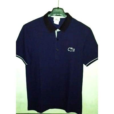 75918adf325e2 d783a68365b Camisa Polo Masculina Marca Famosa Tm M Roxa - R 230,00 em  Mercado ...