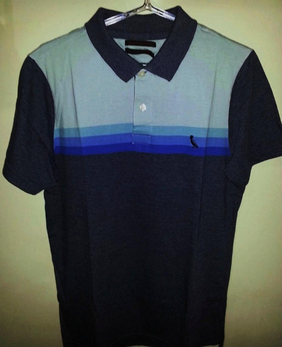 Camisa Polo Masculina Marca Famosa Tm P Em Listras. - R  230 bf31e12284aeb