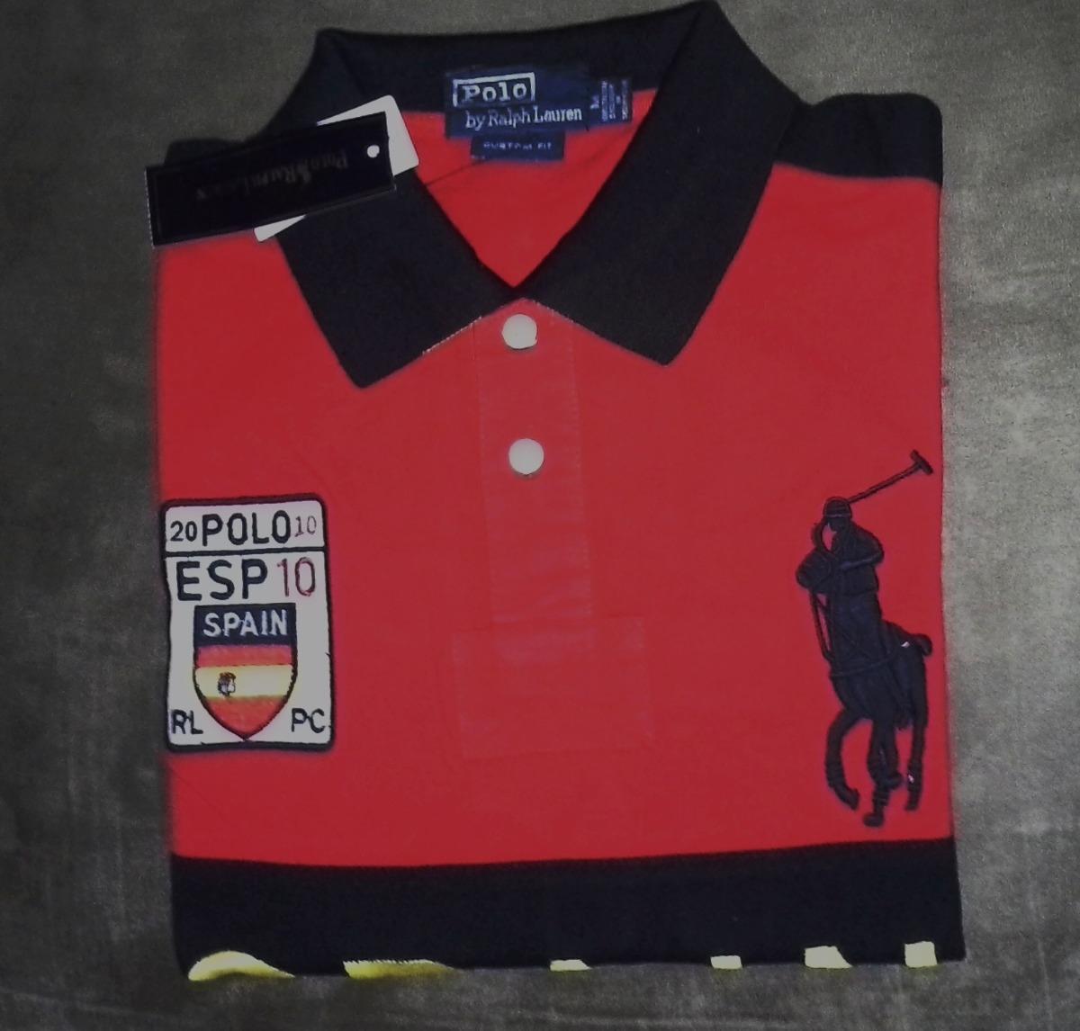 fb7ebcebf3 camisa polo masculina marca famosa vermelha tm m importada. Carregando zoom.