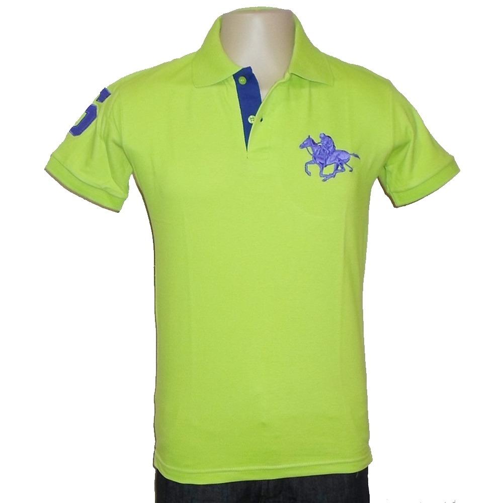 0970558dcc1c4 Camisa Polo Masculina Piquet Basic Fit Rg-518 Cód 600 - R  85
