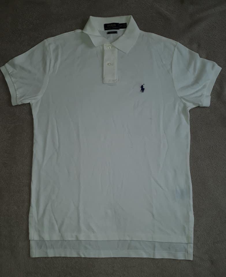 camisa polo masculina polo ralph lauren branca original. Carregando zoom. 3434fd3a94d