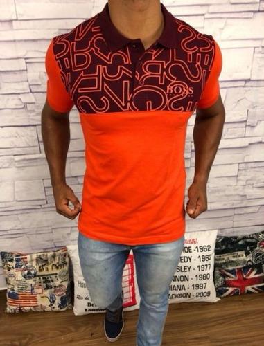 camisa polo masculina sergio k | g. marcas | hugo boss