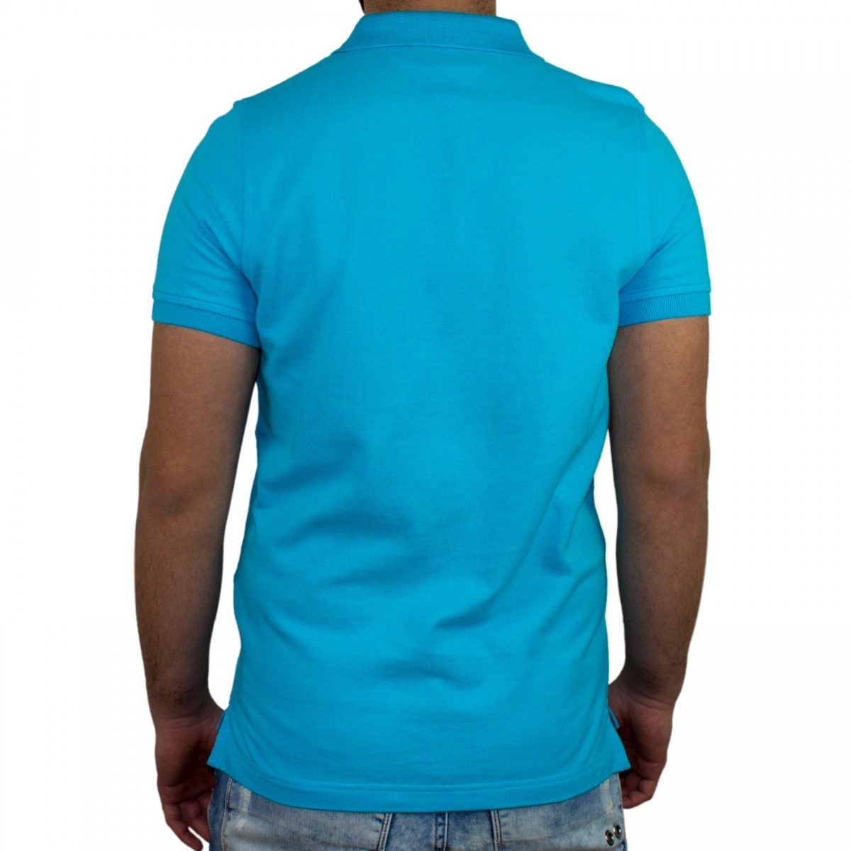 ff0fada0c camisa polo masculina tommy hilfiger slim th0857869129. Carregando zoom.