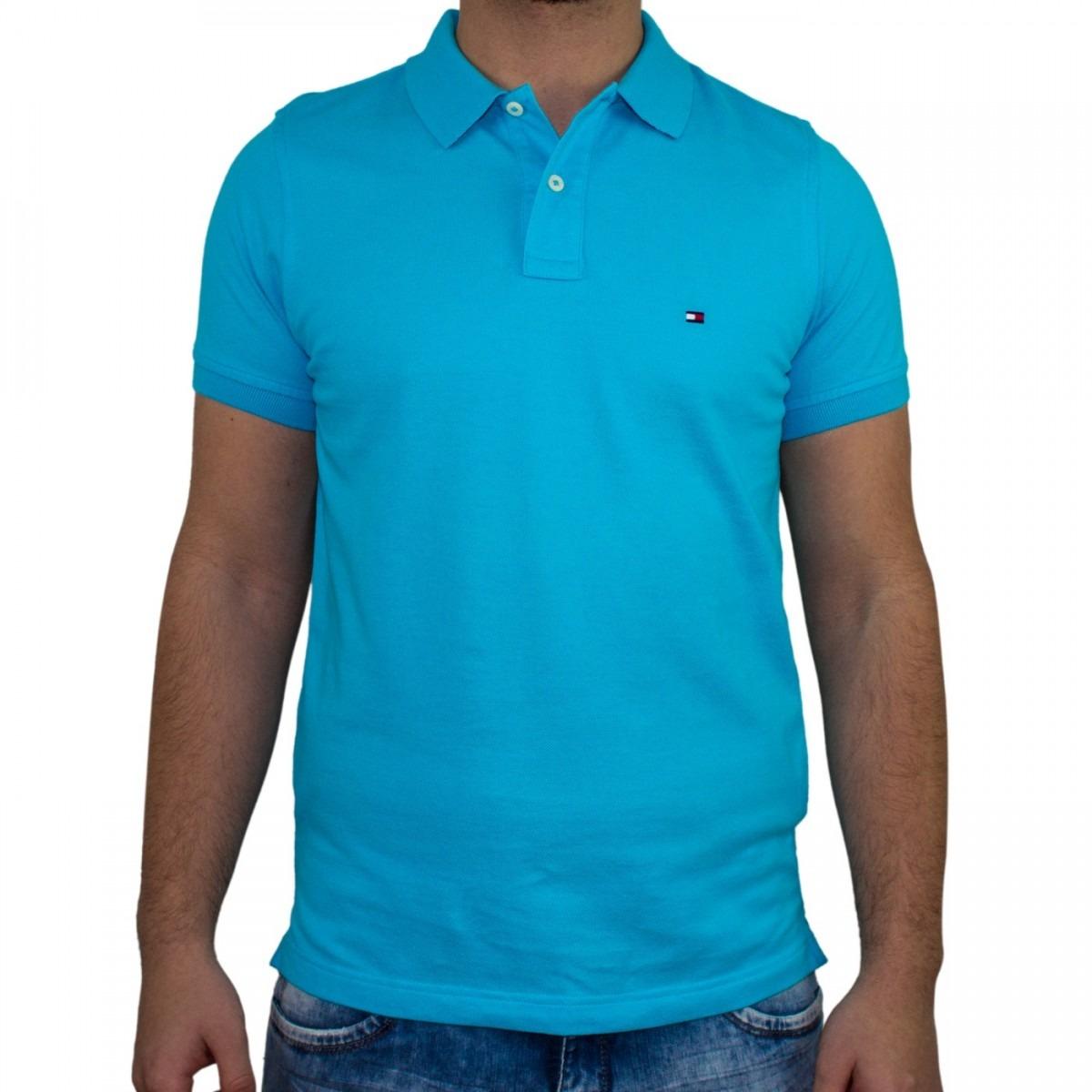 63ab150043ae7 camisa polo masculina tommy hilfiger slim th0857869129. Carregando zoom.