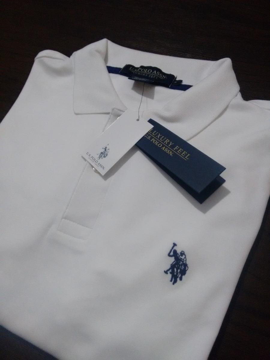 Camisa Polo Masculina Us Polo Assn 100% Original Importada - R  119 ... a92f78ed9861e